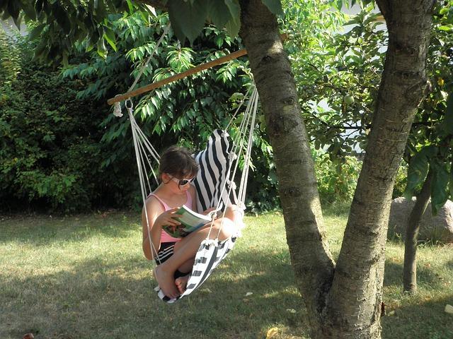 El rincón del relax en el jardín