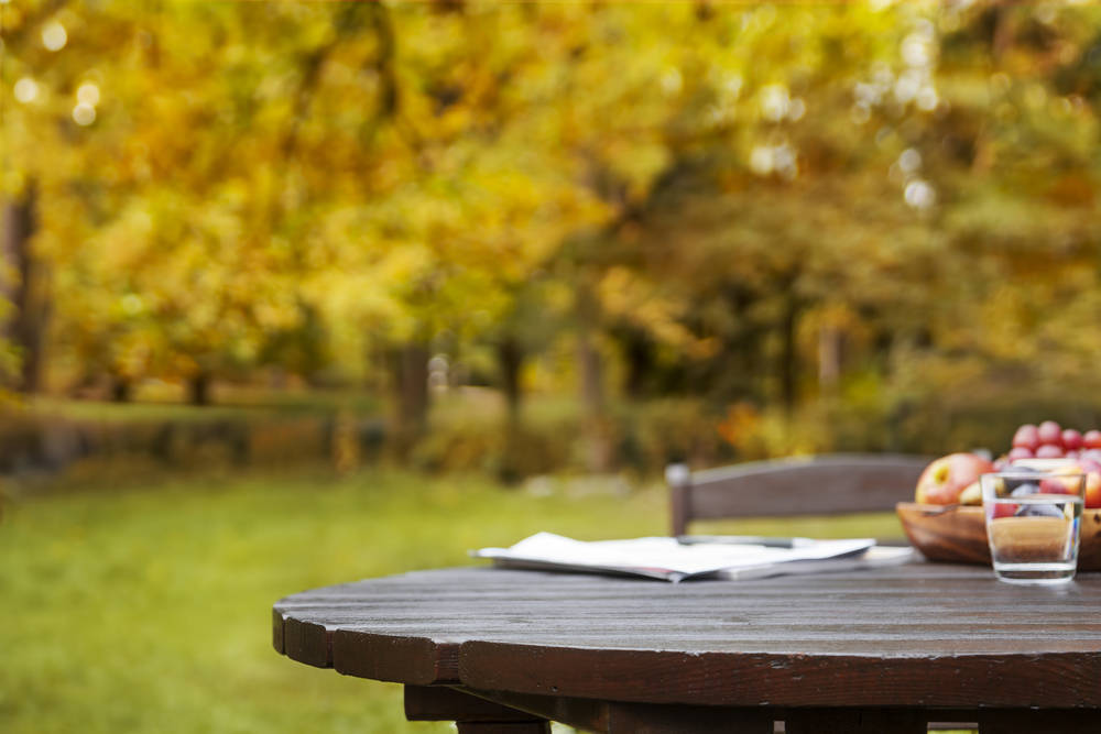 La mesa idónea para tu jardín