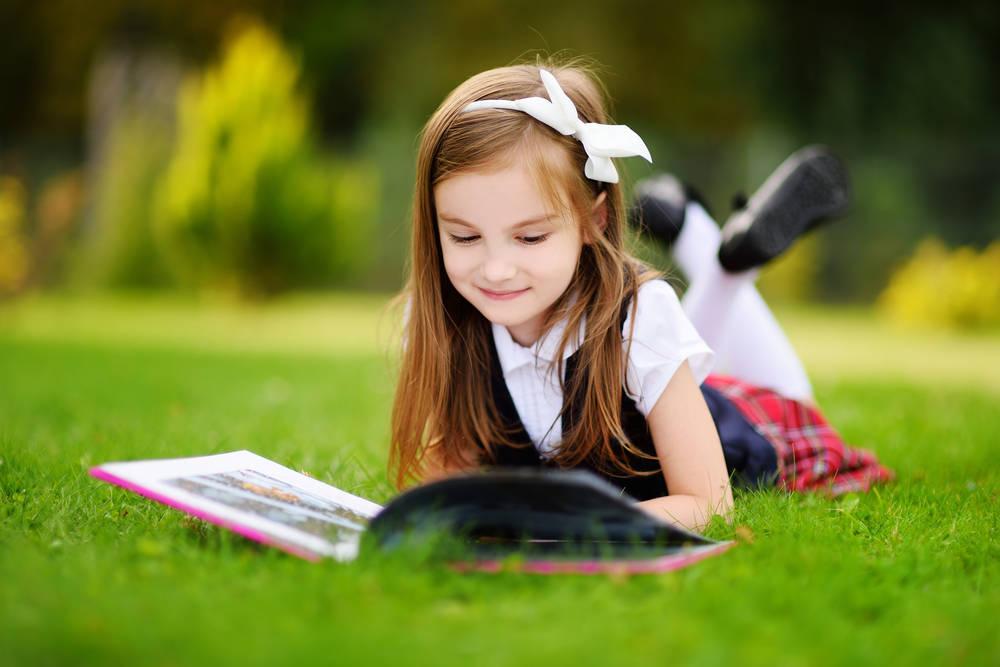 El jardín es el mejor lugar para leer