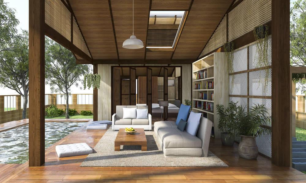 Dale una segunda vida al mobiliario de tu salón reciclándolo para la terraza